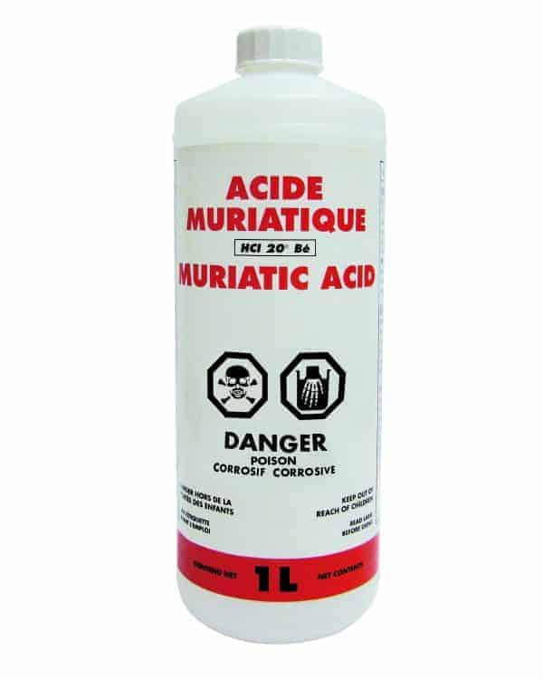 acide muriatique 1 l