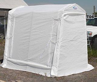 Abri rangement 5x8 services aqua mobile for Abris de piscine 4x8