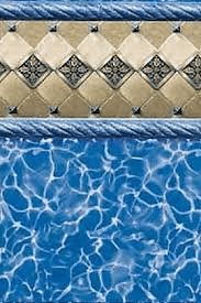 Toile de piscine royal heritage overlap